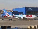 TAM Linhas Aereas (Walt Disney World special livery) Boeing 767-316(ER) PT-MSZ.jpg
