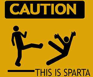 English: THIS IS SPARTA