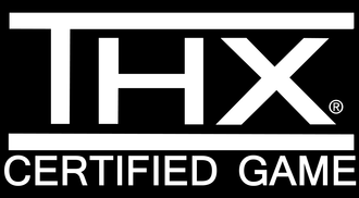 THX - THX Certified Game logo commonly used on some THX-certified video games.