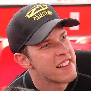 Brad Keselowski American stock car racing driver