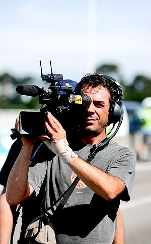 Televisão Independente - TVI cameraman