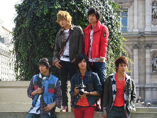 TVXQ in Paris France
