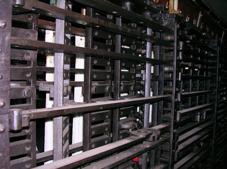 John Saxby - Saxby interlocking Frame, preserved in France, Gare de Nîmes