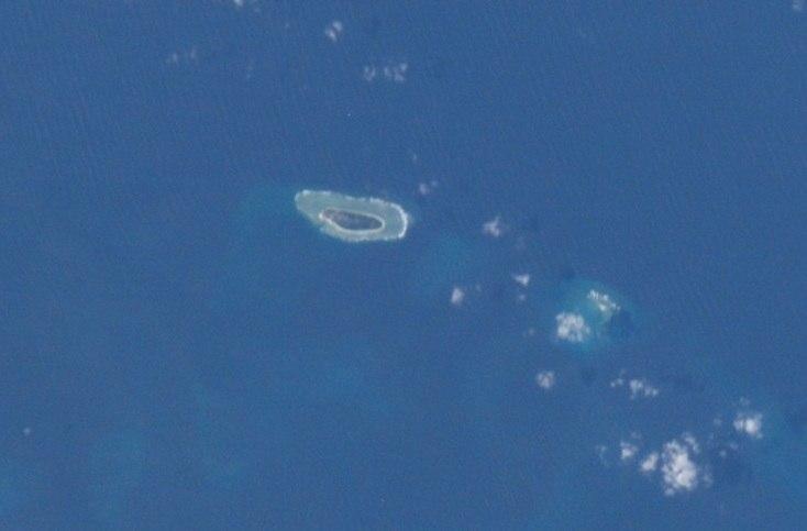 Taiping Island and Zhongzhou Reef ISS
