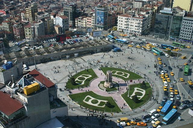 По завершению строительства, на стамбульской площади Таксим высадят деревья