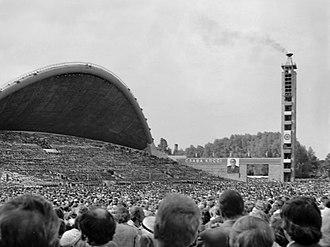 Baltic states under Soviet rule (1944–91) - Estonian Song Festival in Tallin in 1980