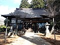 Tamamoro Shrine Koshu City, Oratory.JPG
