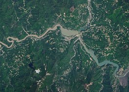 Lago Tangjiashan 2016 Landsat.jpg