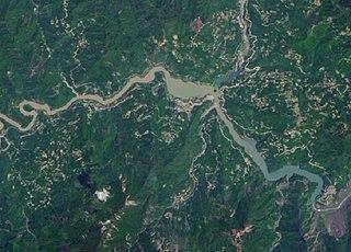 Tangjiashan Lake