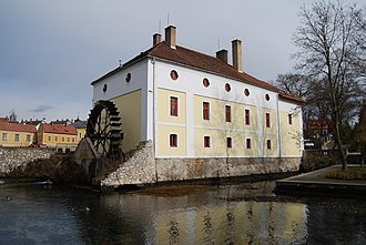 Watermill - A watermill in Tapolca, Veszprem County, Hungary