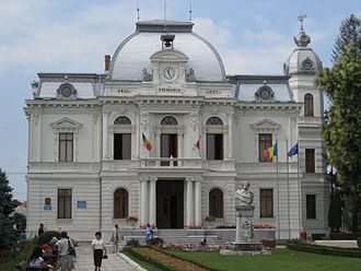 Târgoviște - Town hall of Târgoviște