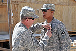 Task Force Overlord soldier Awarded the Purple Heart Medal 110606-N-IA881-003.jpg