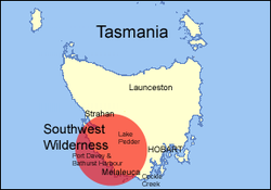 Tasmania location map S-W-Wilderness.png