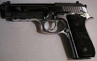 Service pistol - Taurus PT92.