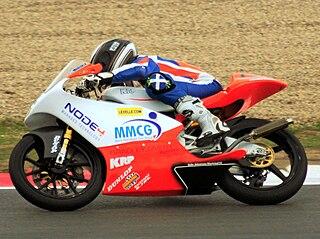 Taylor Mackenzie British motorcycle racer