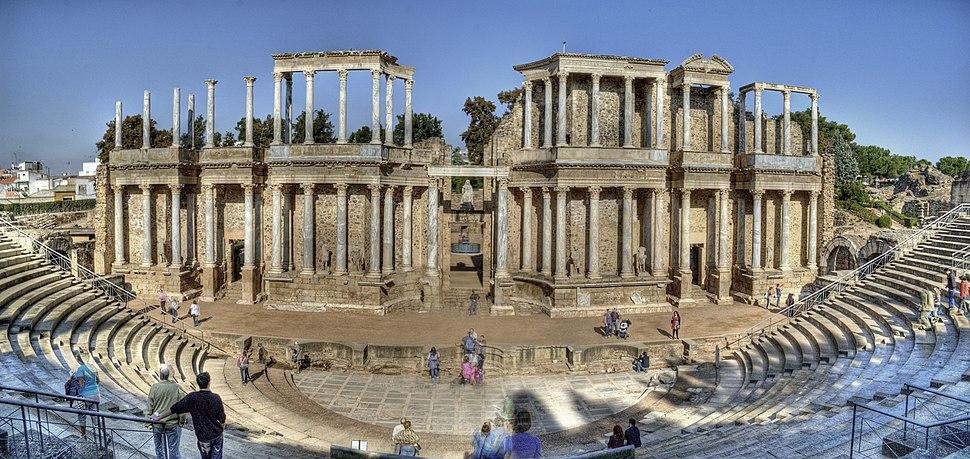 Teatro romano de Mérida (2)