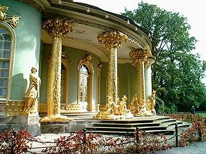 Chinese House (Potsdam) - Northern entrance to the Chinese House