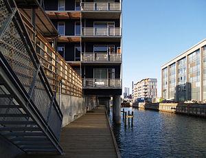 Tegnestuen Vandkunsten - Teglværkshavnen housing, Copenhagen, 2003-08