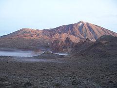 Teide, là ngọn núi cao nhất của Tây Ban Nha tại 3.718 mét.