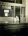 Teller at payment window of Southwestern Bell Telephone Company.jpg