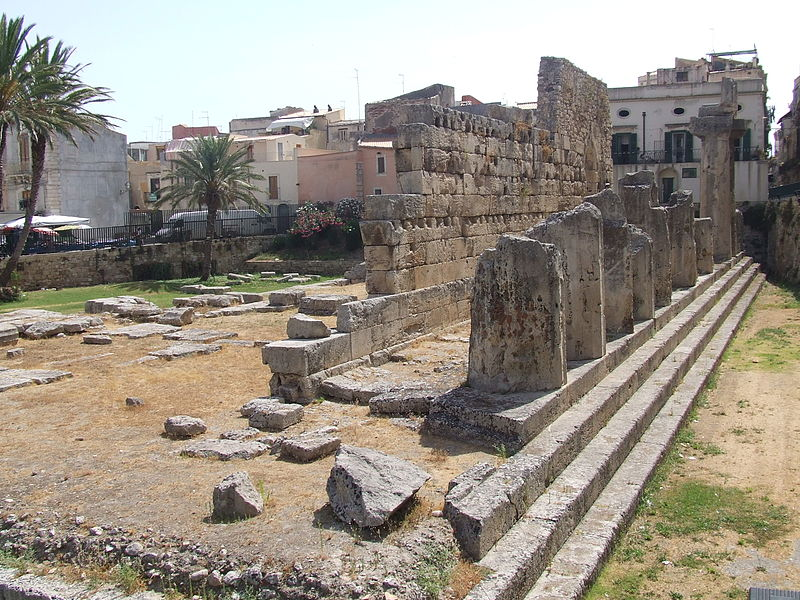 Temple of Apollo, Syracuse, Sicily.JPG