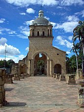 Templo Histórico de Cúcuta, donde se desarrolló el Congreso de Cúcuta. En su interior hay una estatua de Bolivar