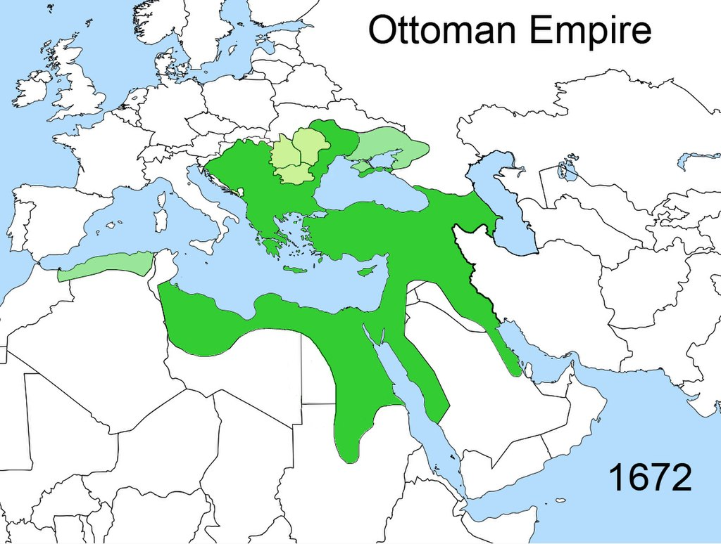 Territorial changes of the Ottoman Empire 1672