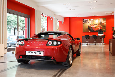 Tesla showroom in Munich, Germany. - Tesla Motors