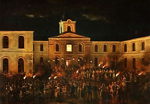 Craiova - Unity Dance at Craiova, 1857, by Theodor Aman