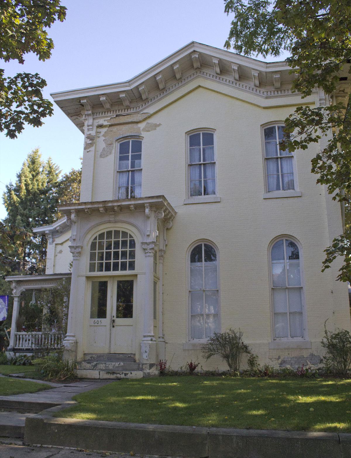 Thayer thompson house wikipedia for The thompson house