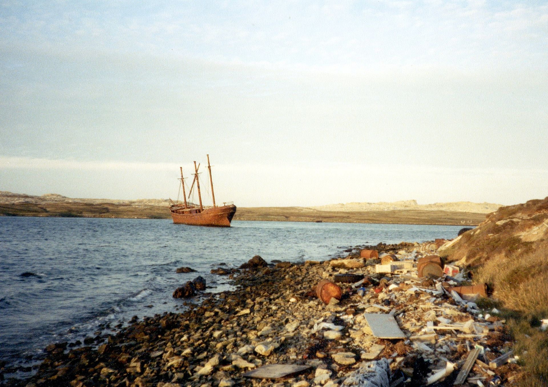 Fishing Wrecks Off Long Island