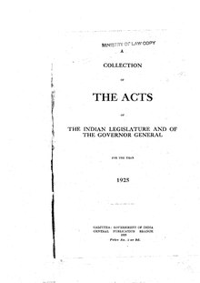 The Acts of the Indian Legislature and of the Governor General for the year 1925.pdf