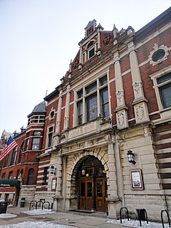 Athenæum (Das Deutsche Haus) historic building in Indianapolis, Indiana