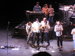 Music history of the United States in the 1960s - The Beach Boys, 2008