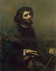 The Cellist (Self-portrait)