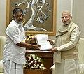 The Chief Minister of Tamil Nadu, Shri O. Panneerselvam calls on the Prime Minister, Shri Narendra Modi, in New Delhi on December 19, 2016 (1).jpg