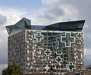 The Cube (building) - Image: The Cube birmingham