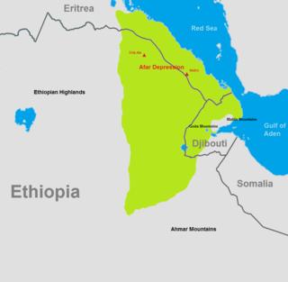 desert in northeast Ethiopia