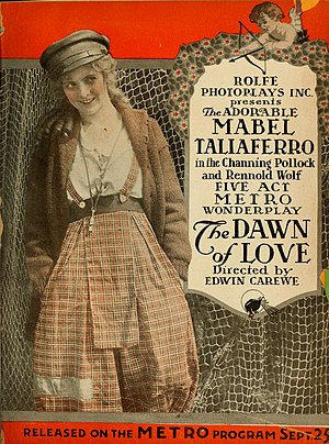 Mabel Taliaferro - The Dawn of Love (1916)