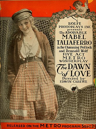 Mabel Taliaferro - The Dawn of Love (1916)