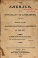 The Emerald, or, Miscellany of literature, containing sketches of the manners, principles and amusements of the age (1806).png