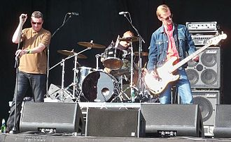 The Farm (British band) - The Farm playing on the main stage on Saturday afternoon at Guilfest 2014