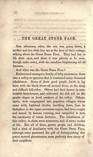 short story by Nathaniel Hawthorne