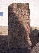 The Konungsund church, The Konungsund parish. Runestone Ög 13, Sweden, 4 April 2008, picture 1.jpg