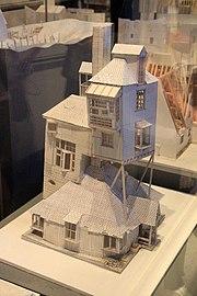 château de poudlard maquette