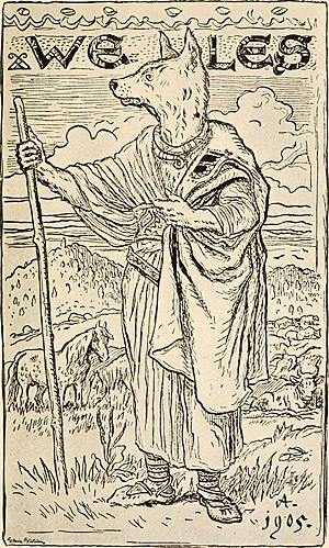 Slavic Native Faith and mono-ideologies - Illustration of Veles from The Mythology of All Races, Vol. 3, 1918.