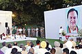 The Prime Minister, Dr. Manmohan Singh at a Sarva Dharma Prarthna Sabha in memory of the Late Sunil Dutt, former Minister of Youth Affairs and Sports, in New Delhi on May 31, 2005.jpg