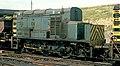 The Slave unit of class 13 no. 13003, permanently coupled Master-Slave locomotives, Tinsley Marshalling Yard, Nigel Tout, 6.8.74.jpg
