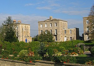 Melksham - The Spa features large stone lodging houses