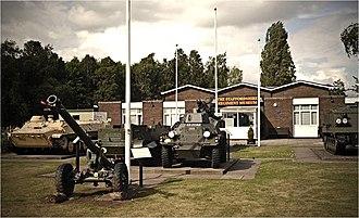 Whittington Barracks - The Staffordshire Regiment Museum